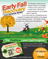 Get Your PestNow Fall Lawn Care Coupon