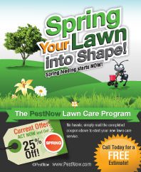Get Your PestNow Spring Lawn Care Coupon