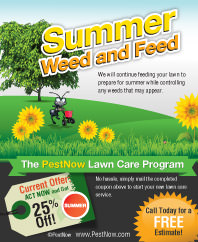Get Your PestNow Summer Lawn Care Coupon